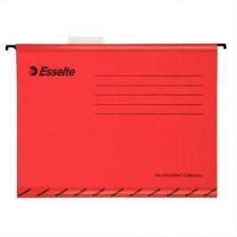 ESSELTE Zesílené závěsné desky Classic, červená, A4, recyklovaný karton,