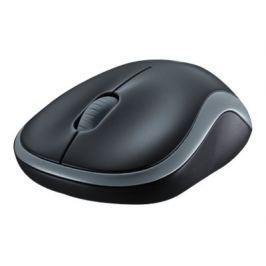 Logitech Myš  Wireless Mouse M185 Swift Grey, nano, podpora unifying