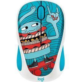 Logitech ® Wireless Mouse M238 - Doodle Collection - SKATEBURGER - EMEA