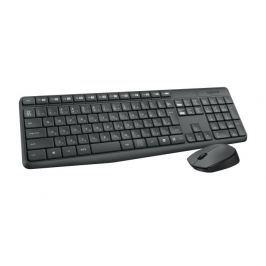 Logitech bezdrátová sada klávesnice a myši MK235 , CZ