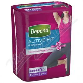 KIMBERLY-CLARK Inkont.kalh.abs.DEPEND Active-Fit XL pro ženy 8ks