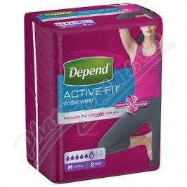 KIMBERLY-CLARK Inkont.kalh.abs.DEPEND Active-Fit M pro ženy 8ks