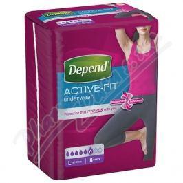 KIMBERLY-CLARK Inkont.kalh.abs.DEPEND Active-Fit L pro ženy 8ks