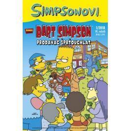 Simpsonovi - Bart Simpson 1/2018 - Prodavač šprťouchlat - Groening, Matt