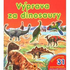 Samolepková knížka: Výprava za dinosaury, Nakladatelství SUN