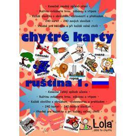 CHYTRÁ LOLA Chytré karty - Ruština slovíčka 1