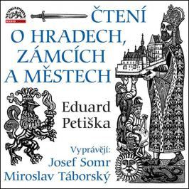 Supraphon Čtení o hradech, zámcích a městech - 2 CD (Vyprávějí: Josef Somr a Miroslav Tábo