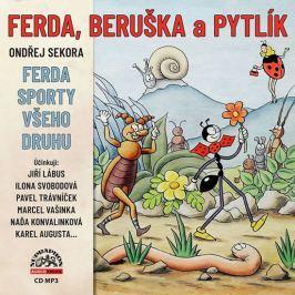Supraphon Ferda, Beruška a Pytlík & Ferda sporty všeho druhu - CDmp3