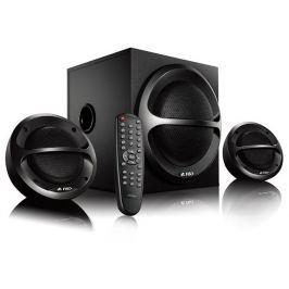 FENDA F&D repro A111X/ 2.1/ 35W/ černé/ BT4.0/ FM rádio/ USB přehrávání/ dálkové