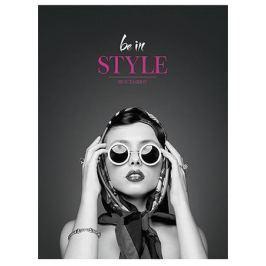 SHKOLYARYK Sešit Be in style, linkovaný, mix, A5, 80 listů,