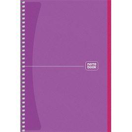 SHKOLYARYK Spirálový sešit Notebook, mix, A5, čtverečkovaný, 80 listů,