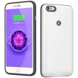 KUNER Kuke pouzdro s akum. a pamětí pro iPhone 6/6s – 16 GB, bílé