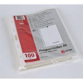 REXEL Obal, transparentní, A5, 45 micron, Obálky