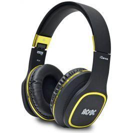 IDANCE sluchátka AC/DC/ BLACK-100/ 3,5mm jack sluchátka/mikrofony
