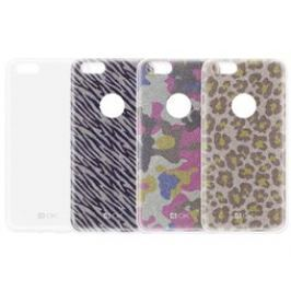 4-OK Glam3 TPU pouzdro 3in1 iPhone SE, Fashion De.