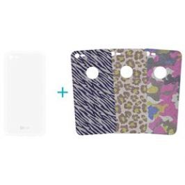 4-OK Glam3 TPU pouzdro 3in1 iPhone 7, Fashion Des.