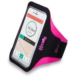 Celly Pouzdro na mobil sportovní  Armband XL - růžové