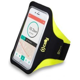 Celly Pouzdro na mobil sportovní  Armband XL - žluté Pouzdra, kryty a fólie