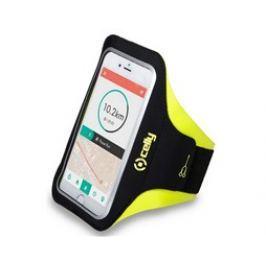 Celly Pouzdro na mobil sportovní  Armband XXL - žluté Pouzdra, kryty a fólie
