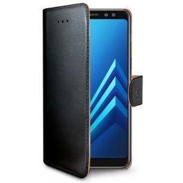 Celly Pouzdro na mobil flipové  Wally pro Samsung Galaxy S9 - černé