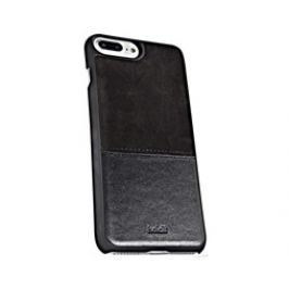 Holdit Case iPhone 6s+,7+ - Black Leather/Suede Pouzdra, kryty a fólie