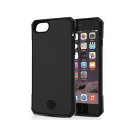 ITSKINS Atom DLX pouzdro iPhone 6/6S/7/8, Black
