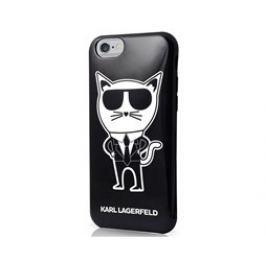Karl Lagerfeld K-Team Black TPU iPhone 6/6S Pouzdra, kryty a fólie