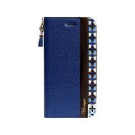 Uunique flip Elegant Folio iPhone 7, Navy Blue