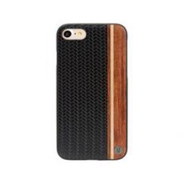 Uunique kryt Micro Weave Design iPhone 7, Black