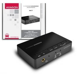 AXAGO N ADA-71 SOUNDbox USB real 7.1 audio adapter, SPDIF in/out