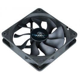 AKASA ventilátor Viper Black Fan / 120mm / 4pin / ložisko HDB / černý