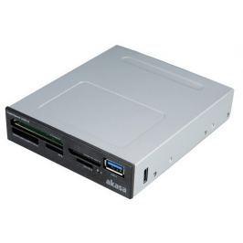AKASA čtečka AK-ICR-27 / 5-slotová / USB3.0 / interní / černá