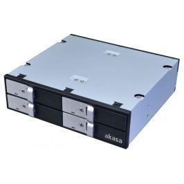 """AKASA mobilní box Lokstor M22 pro 4x2,5"""" HDD/SSD disky"""