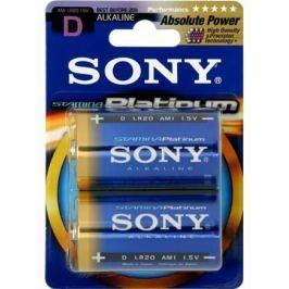 Sony Alkalické baterie AM1PTB2D, 2ks LR20/D, Stamina Platinum
