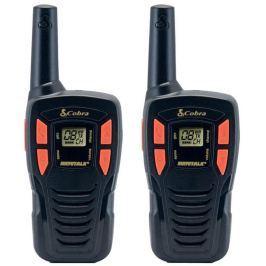 COBRA vysílačky AM245/ profi PMR/ 2ks/ 6x nabíjecí baterie AA/ 8 kanálů/ dosah 5