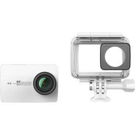 YI Technology Yi 4K Action Camera 2 Waterproof Set, bílá