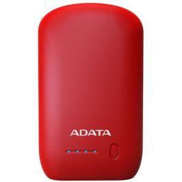 ADATA P10050 Power Bank 10050mAh, červená