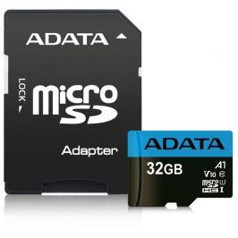 ADATA Premier micro SDHC karta 16GB Class 10 + Adaptér (až 85MB/s)