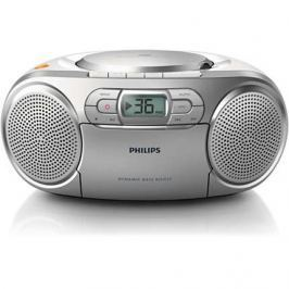 Philips AZ127/12 radiomagnetofon s CD