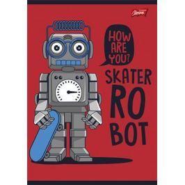 UNIPAP Sešit Robot, A5, čtverečkovaný, 32 listů,