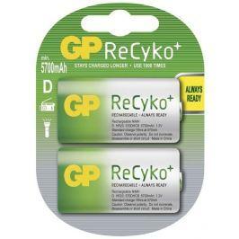 GP BATERIE Baterie nabíjecí GP ReCyko+ D, HR20, 5700mAh, Ni-MH, krabička 2ks