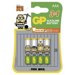 GP Batteries Alkalická baterie GP LR03 (AAA), limit. edice MIMONI 3+1 ks