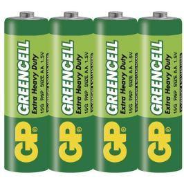 GP Batteries Baterie zinkochloridová GP AA, R6, fólie 4ks