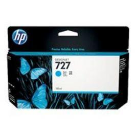 HP cartridge B3P19A (727) azurová pro DesignJet - 130ml