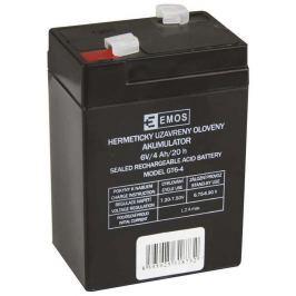 EMOS B9641 bezúdržbový olověný akumulátor 6V 4Ah pro svítilny 3810