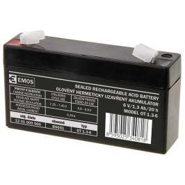 EMOS Bezúdržbový olověný akumulátor 6V 1,3Ah