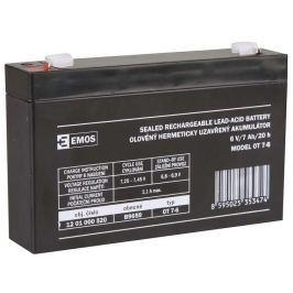 EMOS Bezúdržbový olověný akumulátor 6V 7Ah