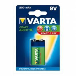 Varta Akumulátory  Hi-voltage 9V 200 mAh 1ks ready 2 use