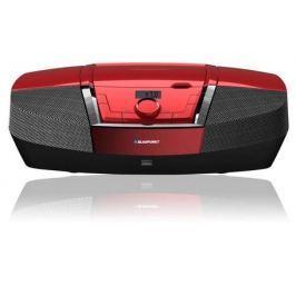 BLAUPUNKT Rádiopřijímač s CD  BB12RD FM PLL CD/MP3/USB/AUX, červený