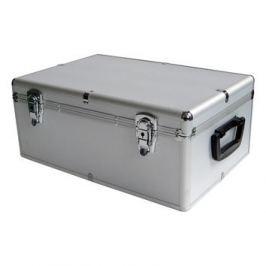 Mediarange DJ case kufr na 500 disků sříbrný